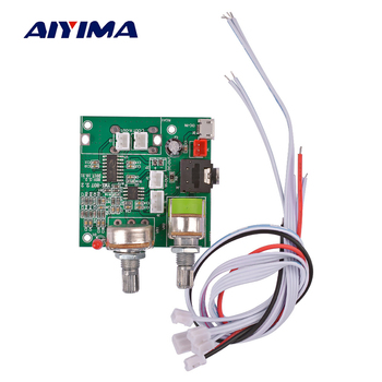 AIYIMA Mini Digital Class D Amplifiers Audio Board 20W 2.1 Channel Stereo Subwoofer Amplifier Amplificador DIY For Home Theater