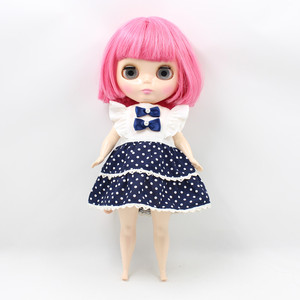 Image 5 - The Body of Fortune Days doll plump Body blyth suitable for change the body for the plump Lady PINK SHORT HAIR 2476