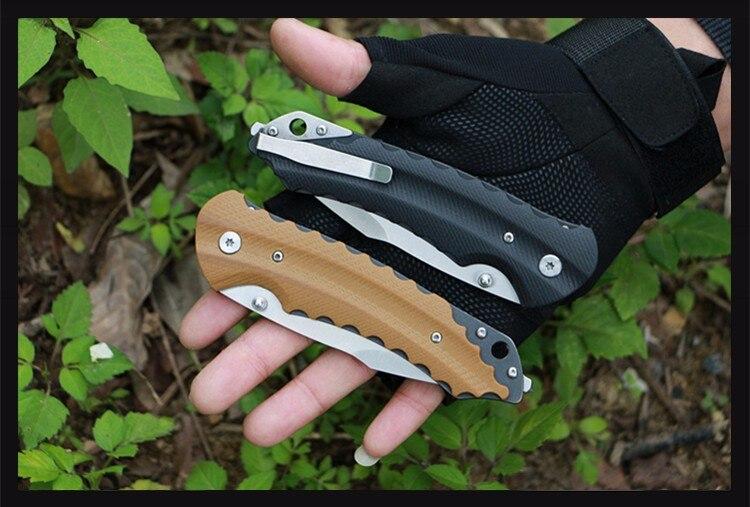 Ingyenes szállítás Két színű összecsukható kés túlélési - Kézi szerszámok - Fénykép 2