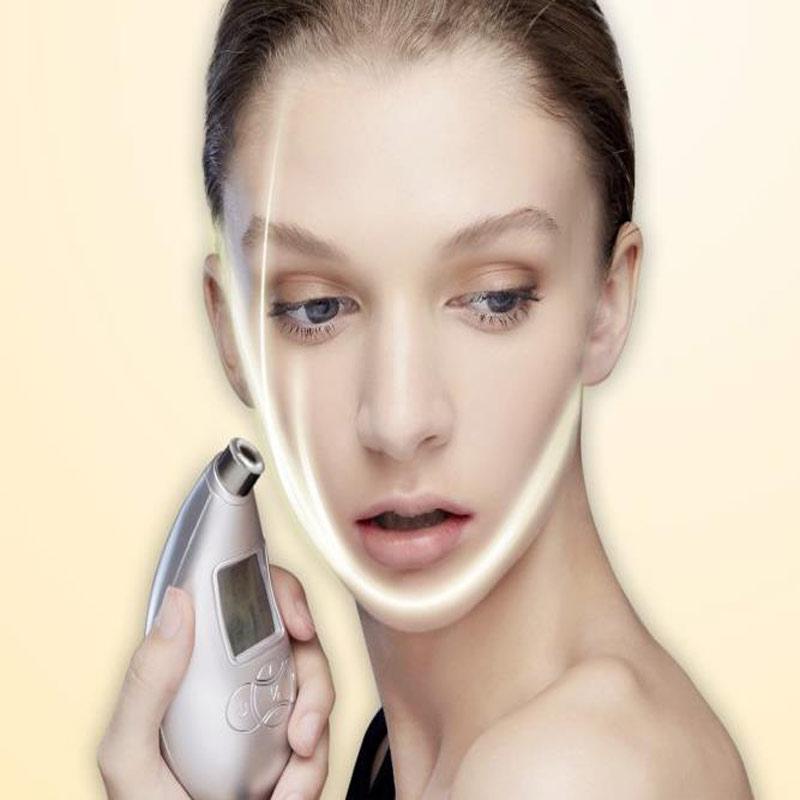 2017 Diamond Personal Microderm System V Line Face remove Scars Acne Marks Skin Beauty Machine Dermabrasion Microdermabrasion silver 2016 new technology diamond microdermabrasion machine v line face remove scars acne marks skin beauty machine