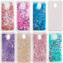 Bling Liquid Quicksand Case For Samsung Galaxy S7 Edge S8 S9 Plus A3 A5 A6 A7 J3 J5 J7 2016 2017 A8 Plus 2018 TPU Glitter Cover