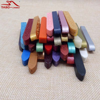 32colors Set Carved Flower Sealing Wax Sticks Without Wick For Bottle Seal DIY Packing High Fashioned