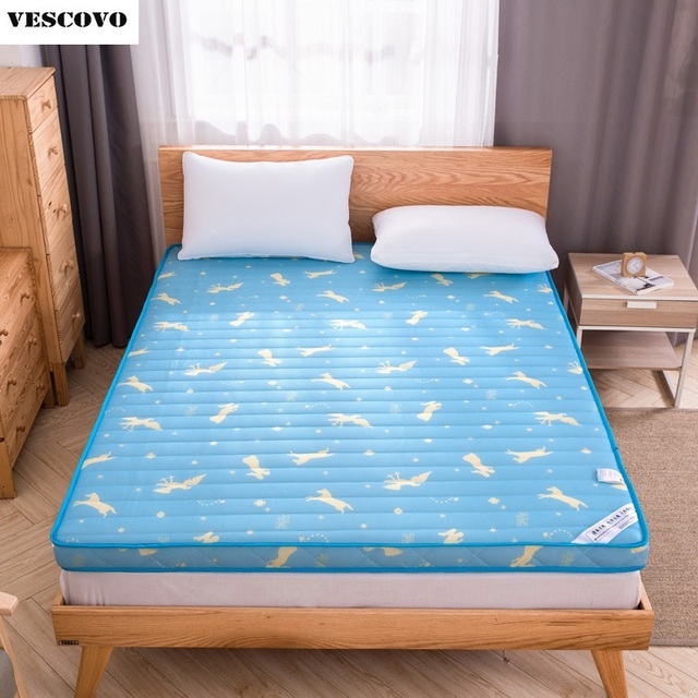 Moda marca moda algodón colchón lleno masaje solo colchón doble ...
