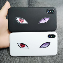 Naruto Sasuke Sharingan Eyes IPhone & Samsung Cases