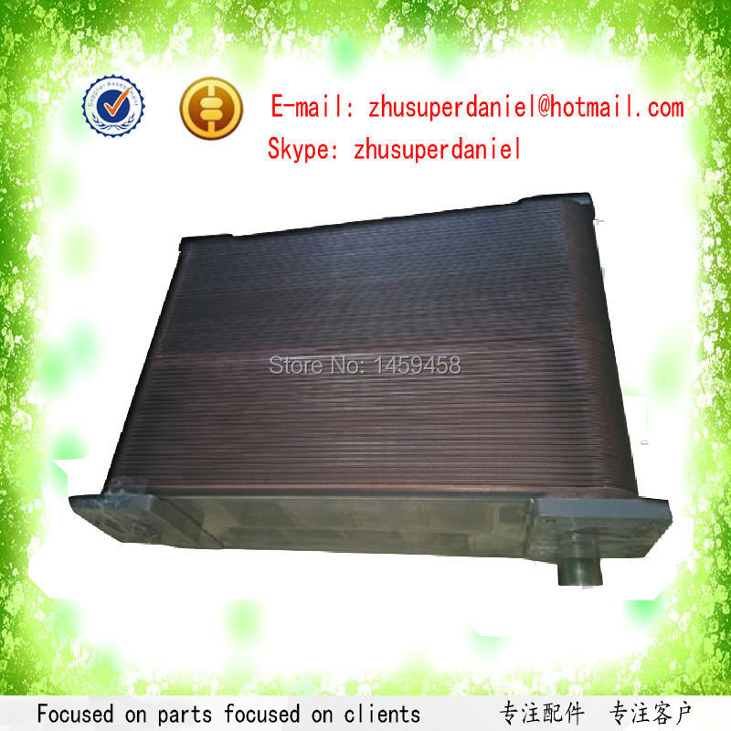 Sullair 55KW screw compressor parts tube shell type rear heat exchanger oil cooler 88291006-088Sullair 55KW screw compressor parts tube shell type rear heat exchanger oil cooler 88291006-088