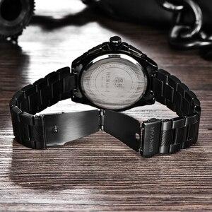 Image 5 - BENYAR メンズ腕時計ゴールド腕時計男性クォーツ時計軍 Wriswatch メンズトップブランドの高級クロノグラフ時計レロジオ Masculino