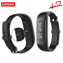 Lenovo HW01 Smart Wristband BT BLE Heart Rate Pedometer Tracker IP65 Waterproof Fitness Bracelet for Android IOS PK Mi Band 2