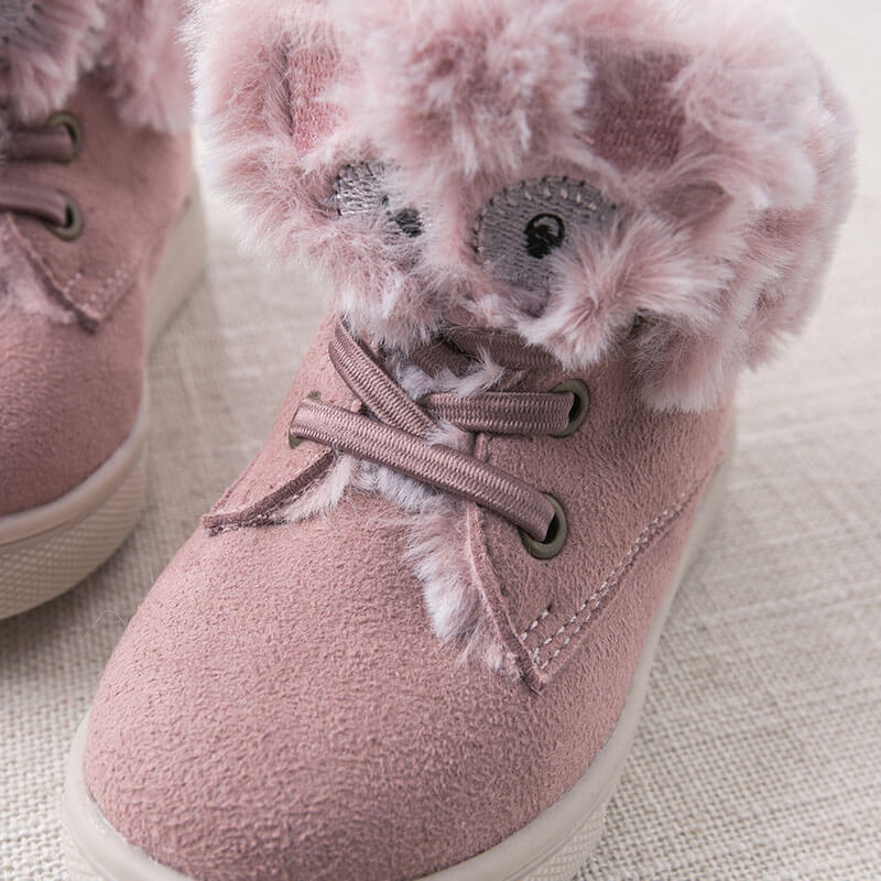 DB8807 Dave Bella autumn winter baby boy girl casual shoes brand shoes children winter shoes with fur