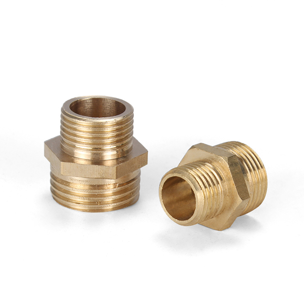 """Brass Fittings: Pipe Nipples Qty 5 Pipe Size 1//8/"""" 1 1//2/"""" Long"""
