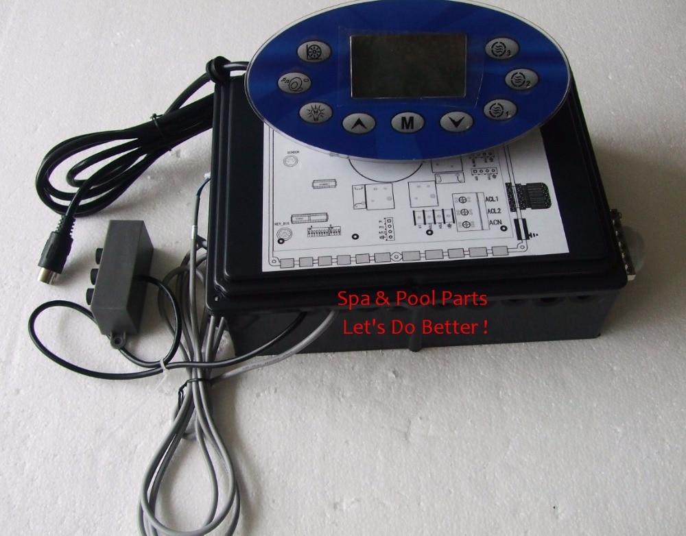 Ethink KL8200 boîte de commande de paquet de contrôleur de bain à remous + panneau d'affichage adapté à l'équipement de Spa KL8100 EnergySaver