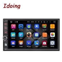 Volante Universal 2Din Idoing 2 GB RAM Android 6.0 Reproductor Multimedia de DVD Del Coche GPS Incorporado 3G Cuelgan 1024*600 de Radio wifi