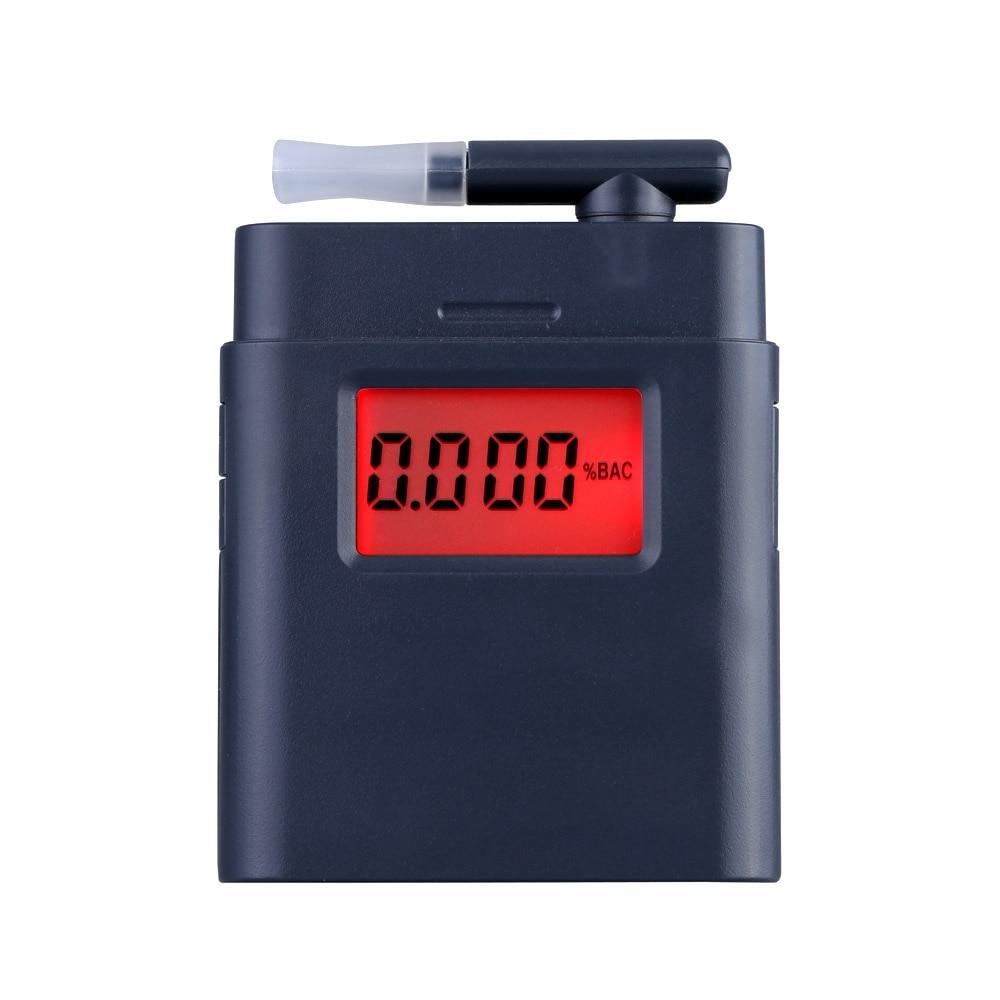 Digital Breath Alcohol Tester con Retroilluminazione Etilometro Guida Essentials Tre tipi di conversione di unità
