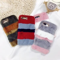 Soft Thin Case For Iphone X 6 6S 7 8 Plus Sweet Winter Warm Soft Plush
