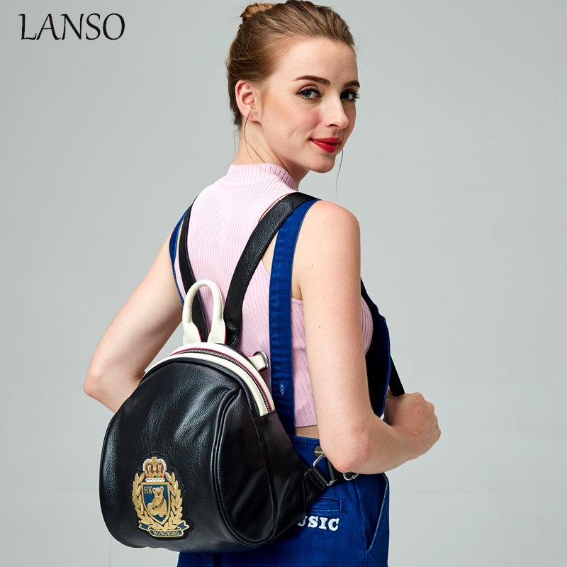 Campus Style Ladies Fashion Backpack 2016 New students School Bag Preppy Casual Daypack College Vintage Girls Travel Backpacks primary school students school bag 3 6 candy color preppy style backpack