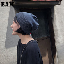 [EAM] 2020 New Spring Summer Keep Warm Vintage Soft Korean Thick Elasticity Unisex Adult Knitted