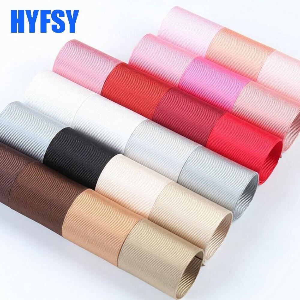 Hyfsy 1-1/2 38 мм плотная лента 10 ярдов DIY материалы ручной работы подарочная упаковка головной убор ленты в крупный рубчик