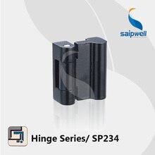 2.4KN поверхностного монтажа цинкового сплава промышленного анклауса использовать шарнир/матовый черный готовые кабиент петли SP234(10 шт./лот