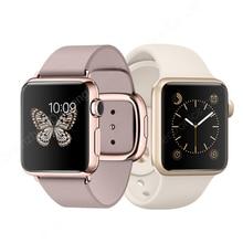 38 ММ Малый/Средний/Большой Размер Смотреть Band для Apple Watch Кожаный Ремешок, Ремешок для Часов для Apple Watch С Разъем Адаптера 38 ММ