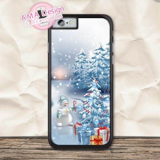 Merry Christmas And Happy New Year Case For iPhone X 8 7 6 6s Plus 5 5s SE 5c 4 4s For iPod Touch