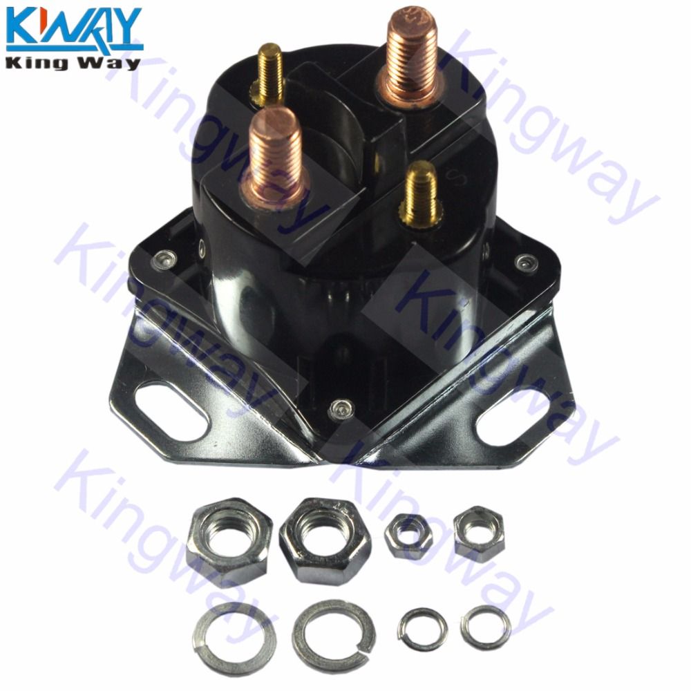 Free Shipping King Way Diesel Glow Plug Relay Solenoid For Ford 1995 7 3 F250 Wiring Powerstroke Ihc 73l 94 03 In Car Switches Relays From Automobiles Motorcycles On