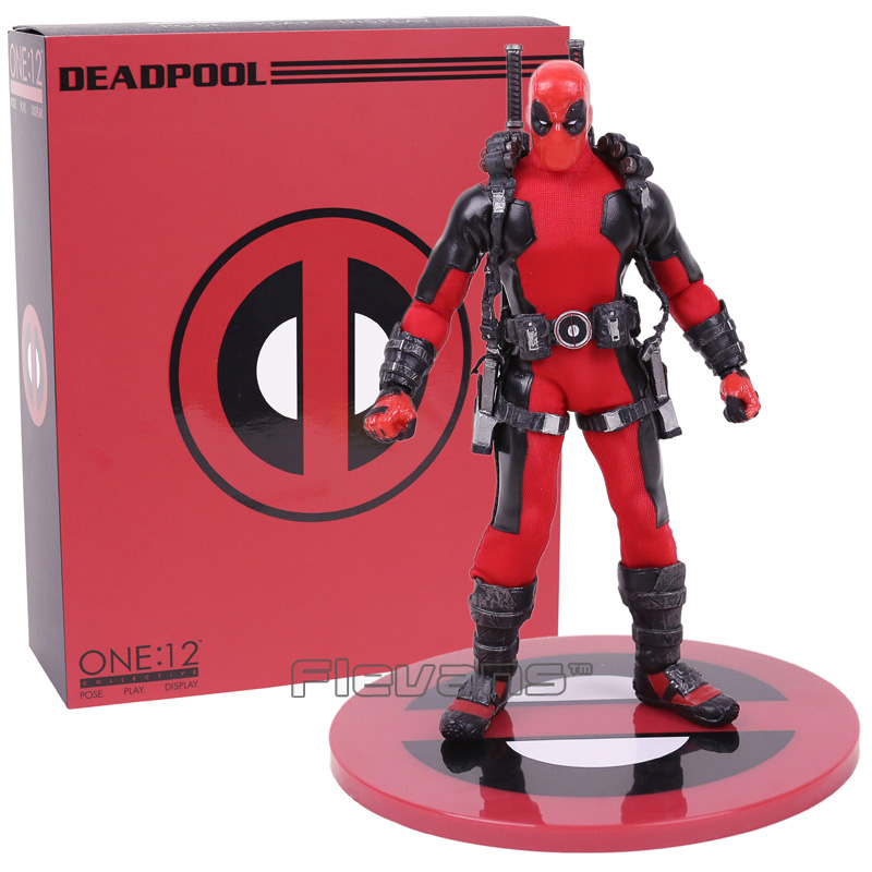 MEZCO Deadpool One:12 Collective Action Figure Model Toy (real clothes) 16.5cm перфоратор кратон rhe 450 12 3 07 01 022