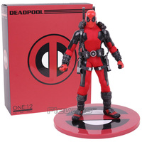 MEZCO Deadpool One:12 Collective Action Figure Model Toy (real clothes) 16.5cm