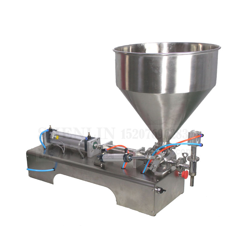 Pnuematic filling machine olive oil filling filler machinery bottling equipment tools sauce shampoo cosmetic lemon juice