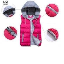 Removable Hood Down Vest Jacket