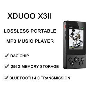 Image 4 - xDuoo X3II X3 II USB DAC Mp3 Player Bluetooth 4.0 AK4490 Portable HIFI Mp3 Music Player DSD128 Lossless MP3/WAV/FLAC player