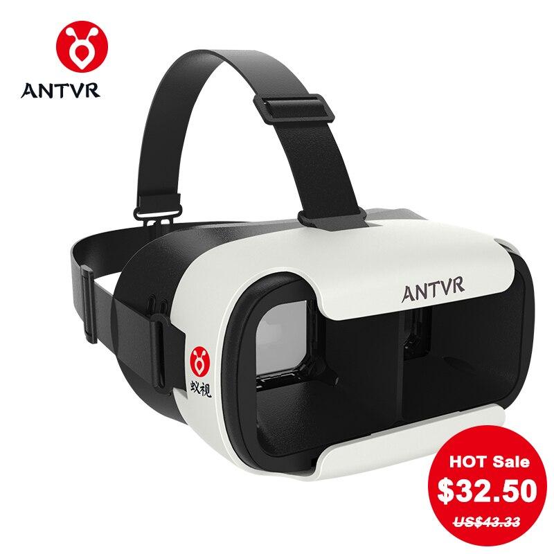 ANTVR Loop distortion free box 3D VR Glasses VR Helmet Headset Head mounted for 5 6