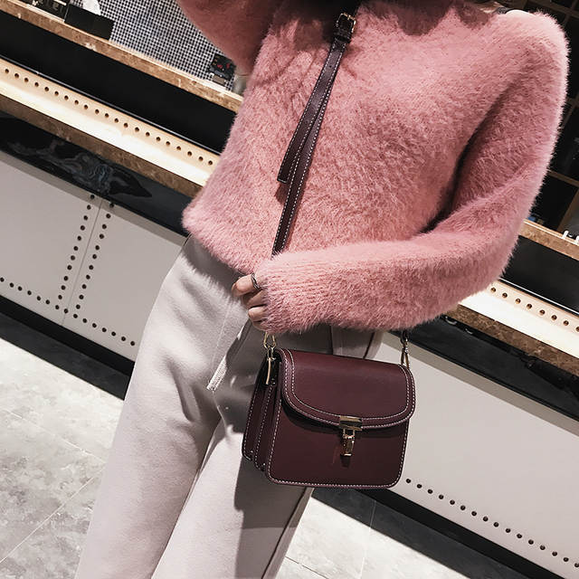 6c5cd7713d 2018 Female Handbag Women Side Bag Ladies shoulder Messenger bag Small Bags  for Girls