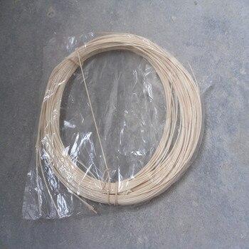 500 G/pacco Indonesiano Canna Rattan Bastone Mobili Tessitura Materiale Esterno Sedia Cestino Colore Naturale 1.2mm 1.5mm 2mm 2.5mm