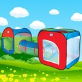 3 In 1 Children tunnel Tent Baby Toy Play Game House Outdoor Tents Birthday Gift