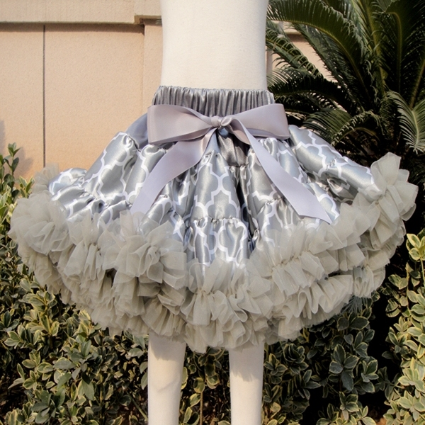 Free Shipping Hot Sale Baby girls fluffy chiffon tutu pettiskirts Girls princess skirt Ballet dance tutu skirt  PETS-153