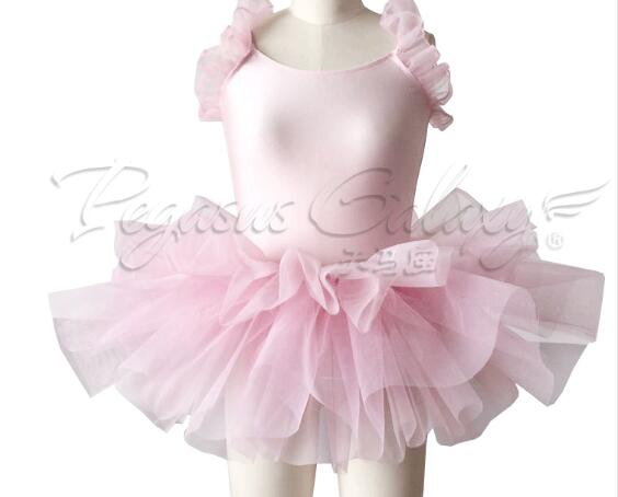 e2886a7ed207 light pink dancing costume modern adult kids Ballet Dance Ballerina Girls ballet  dress leotard