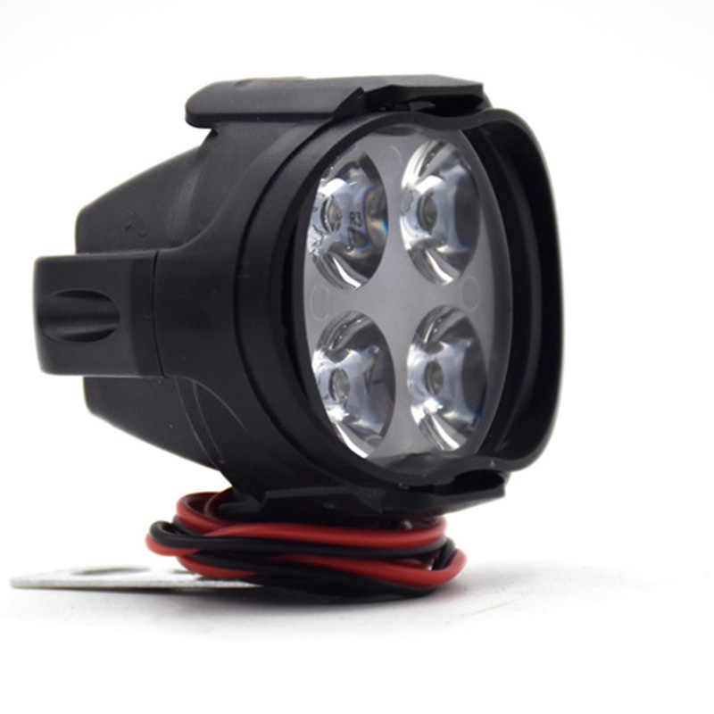 Motorcycle Headlight Scooter Fog Spotlight LED Motorbike ATV 12V Moto Working Spot Light Head Lamp Top Quality