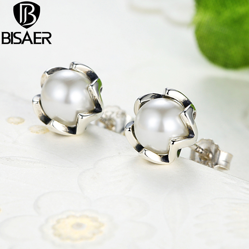 BISAER 925 стерлингови сребърни - Модни бижута - Снимка 4