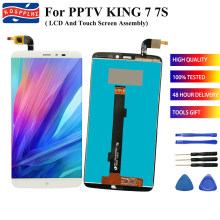 "For PPTV KING 7 7S PP6000 PP 6000 LCD Display Touch Screen 100% Guarantee Assembly Repair Parts 6.0"" PPTV KING7 PP6000 +Tools(China)"
