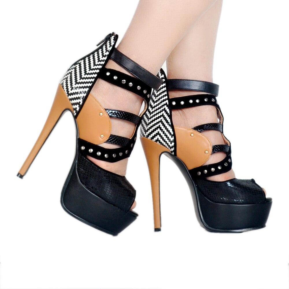 Multi Bout Taille Femmes Us Rond Talons Ef1089 Hauts 15 Sandales Minces Femme Couleurs L'intention forme La Chaussures 4 Élégant Plus Initiale Plate UYcCWFqPw