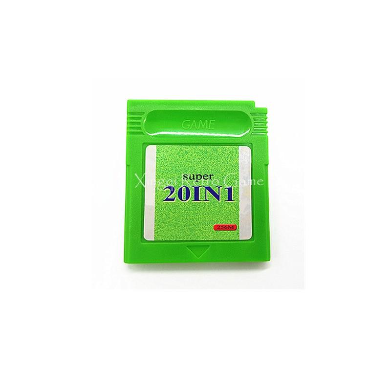 Super 16 IN 1 18 IN1 19 IN 1 20 IN1 22 IN 1 Video Game Cartridge Card English Version