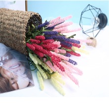 Artificial Flowers for Wedding Flower Lavender Dried Bouquets Party Favor Supplies