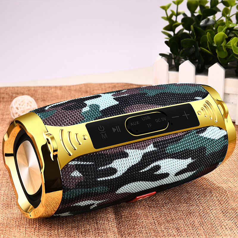 LIGE Wireless Best Bluetooth Speaker Waterproof Portable Outdoor Mini Column Box Loudspeaker Speaker Support TFCard FM Radio Aux(China)