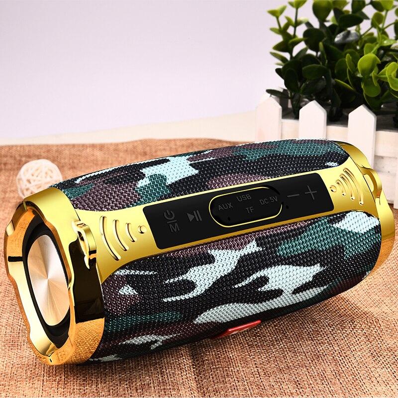 ליגע אלחוטי הטוב ביותר Bluetooth רמקול עמיד למים נייד חיצוני מיני טור תיבת רמקול רמקול תמיכת TFCard FM רדיו Aux