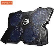 Zeepin coolcold периферия компьютерная вентилятора льда радиатор cooler четыре подставка охлаждения