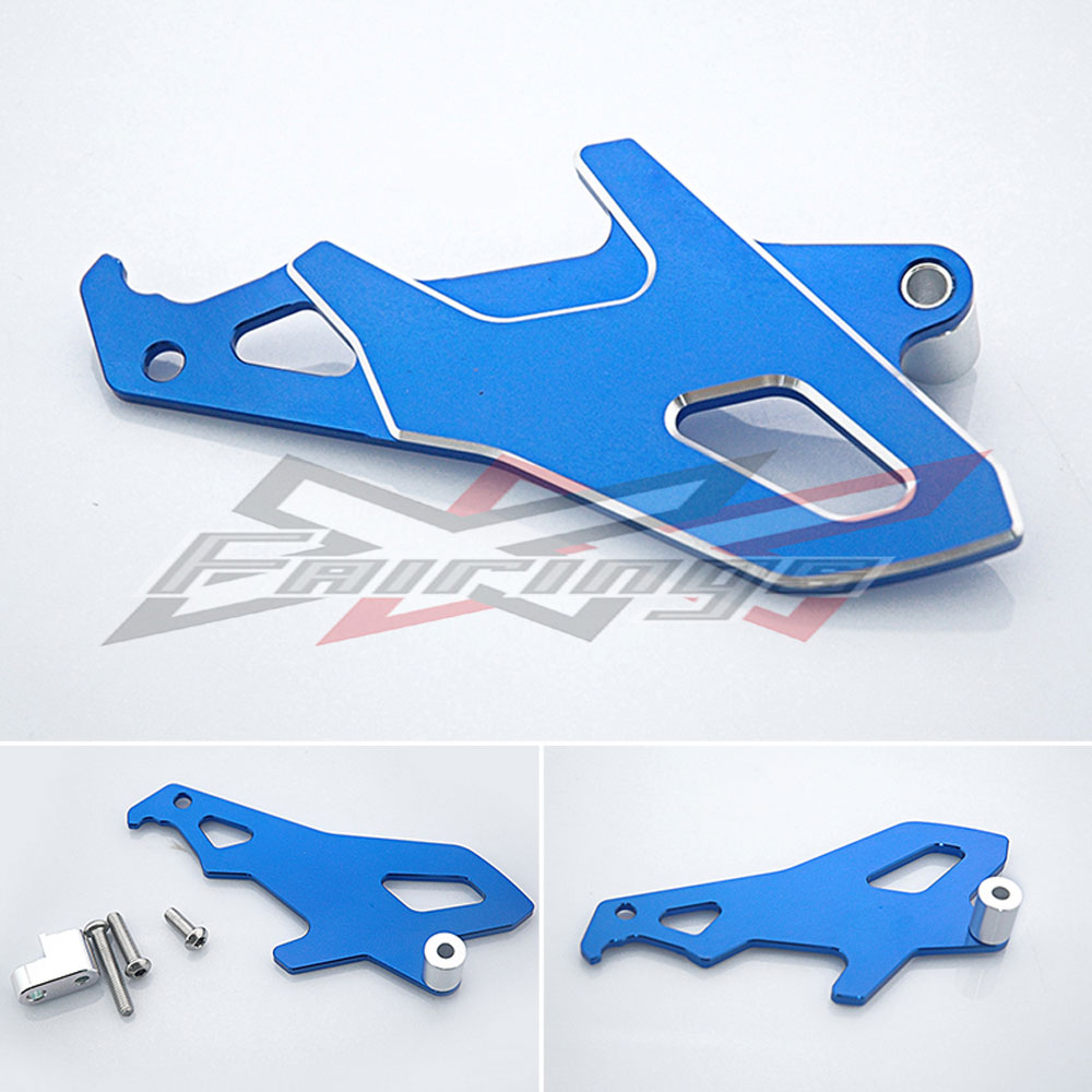 FREE SHIPPING Blue Aluminum Front Sprocket Cover Fit for Honda CRF250L 2012-2013 free shipping free shipping front