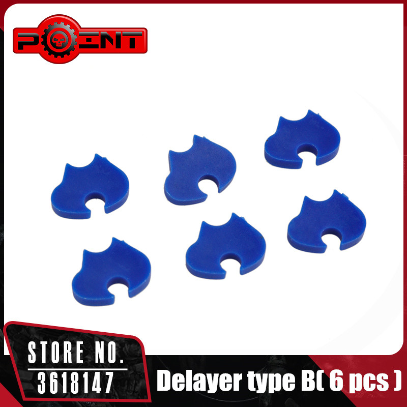 POINT Delayer Type B( 6 Pcs ) For Airsoft Gearbox Hunting Accessories PO03031