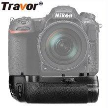 Travor Вертикальная Батарейная ручка держатель для Nikon D500 DSLR камера работает с EN-EL15 батареей как MB-D17