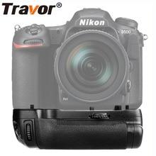 Travor vertical battery grip holder for Nikon D500 DSLR Camera work with EN-EL15 battery as MB-D17