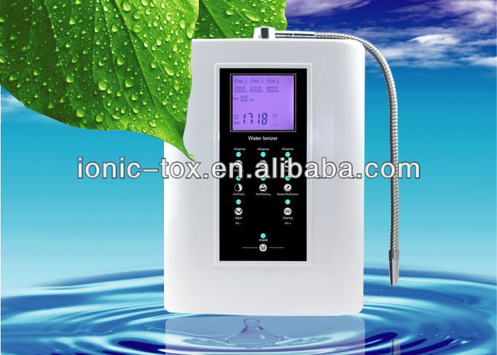 Free shipping to Peru 110V water alkaline water water ionizer OH-806-3W
