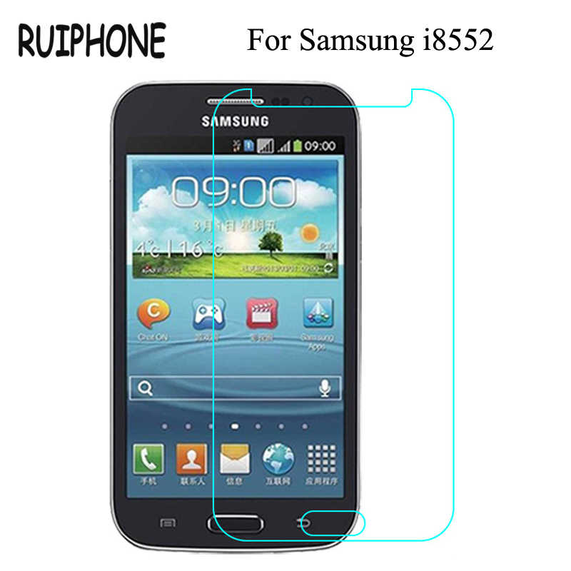 Glass film i 8552 Tempered Glass Film For Samsung Galaxy Win duos i8552 Gt-i8552 i869 Screen Protector pelicula de vidro